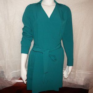 Everlane Go Weave Green Dress